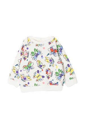 Stella McCartney Kids white sweatshirt  STELLA MCCARTNEY KIDS | -108764232 | 602595SQJC8H910