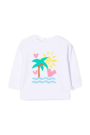 White sweatshirt Stella McCartney Kids STELLA MCCARTNEY KIDS | -108764232 | 602595SQJD79000