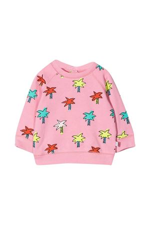 Felpa rosa con stampa multicolor Stella McCartney kids STELLA MCCARTNEY KIDS | -108764232 | 602595SQJE4H504