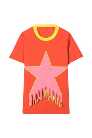 Red t-shirt Stella McCartney Kids  STELLA MCCARTNEY KIDS | 11 | 602620SQJD66561