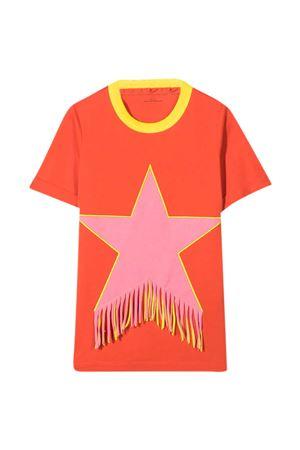 Red teen t-shirt Stella McCartney Kids STELLA MCCARTNEY KIDS | 11 | 602620SQJD66561T
