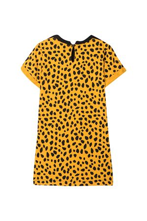 Black dress with animalier print Stella McCartney kids STELLA MCCARTNEY KIDS | 11 | 602624SQJ221000