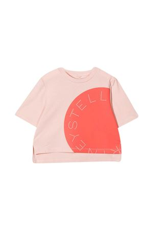 Stella McCartney Kids pink teen t-shirt  STELLA MCCARTNEY KIDS | 8 | 602635SQJ026840T
