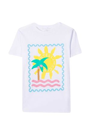 T-shirt bianco teen Stella McCartney Kids STELLA MCCARTNEY KIDS | 8 | 602648SQJ949000T