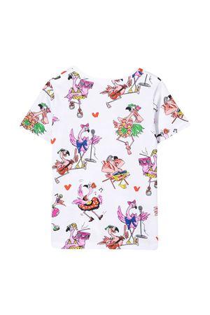 T-shirt bianca con stampa multicolor Stella McCartney kids STELLA MCCARTNEY KIDS | 8 | 602648SQJC9H902