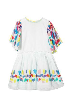 Abito bianco teen con dettagli multicolor Stella McCartney kids STELLA MCCARTNEY KIDS | 11 | 602783SQKB99100T