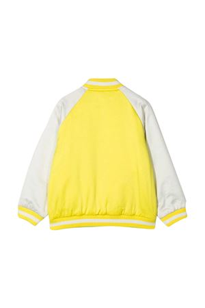 Reversible multicolor bomber jacket with Stella McCartney kids applications STELLA MCCARTNEY KIDS | 1236091882 | 602796SQK763442