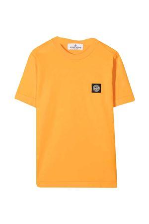T-shirt arancio teen Stone Island Junior STONE ISLAND JUNIOR | 8 | 741620147V0032T