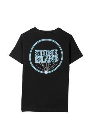 T-shirt nera teen Stone Island Junior STONE ISLAND JUNIOR | 8 | 741621057V0029T