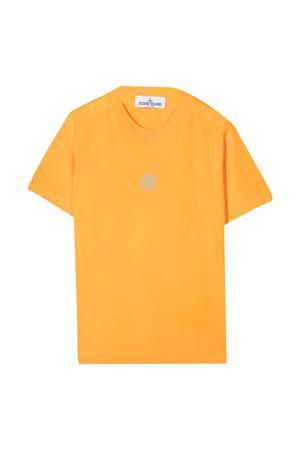 T-shirt arancione Stone Island Junior STONE ISLAND JUNIOR | 8 | 741621057V0032