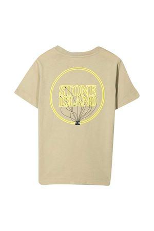 T-shirt sabbia Stone Island Junior STONE ISLAND JUNIOR | 8 | 741621057V0098