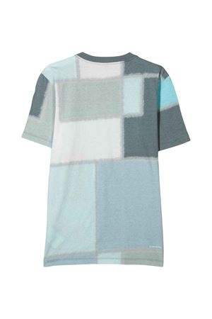 T-shirt azzurra teen Stone Island Junior STONE ISLAND JUNIOR | 8 | 741621446V0064T