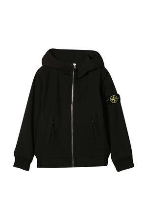 Stone Island Junior teen black jacket STONE ISLAND JUNIOR | 13 | 741640134V0029T