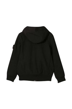 Stone Island Junior black jacket STONE ISLAND JUNIOR | 13 | 741640134V0029
