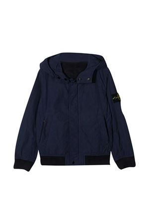 Stone Island Junior teen blue bomber jacket STONE ISLAND JUNIOR | 13 | 741640530V0028T