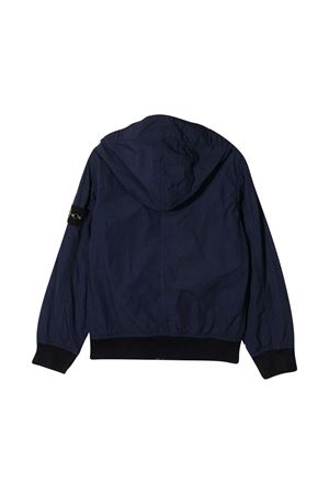 Stone Island Junior blue bomber jacket  STONE ISLAND JUNIOR | 13 | 741640530V0028