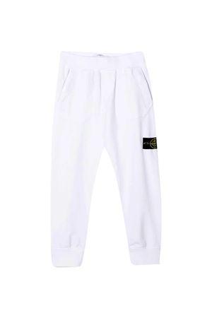 White Stone Island Junior trousers  STONE ISLAND JUNIOR | 9 | 741660442V0001