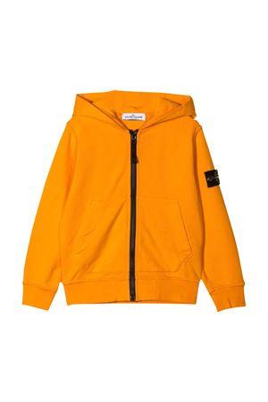 Stone Island Junior orange sweatshirt  STONE ISLAND JUNIOR | -108764232 | 741660740V0032