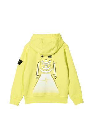 Stone Island Junior yellow teen sweatshirt  STONE ISLAND JUNIOR | -108764232 | 741661740V0031T