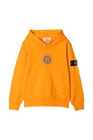 Felpa arancione teen tone Island Junior STONE ISLAND JUNIOR | -108764232 | 741661740V0032T