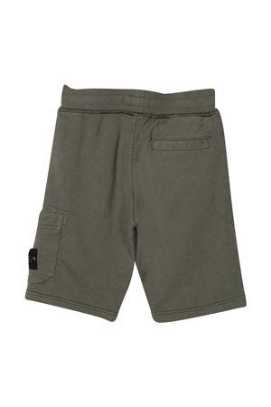 Shorts verde teen Stone Island Junior STONE ISLAND JUNIOR | 5 | 741661840V0059T