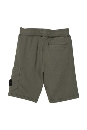 Shorts verde Stone Island Junior STONE ISLAND JUNIOR | 5 | 741661840V0059