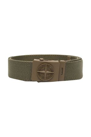 Stone Island Junior teen military green belt STONE ISLAND JUNIOR | 22 | 741690461V0054