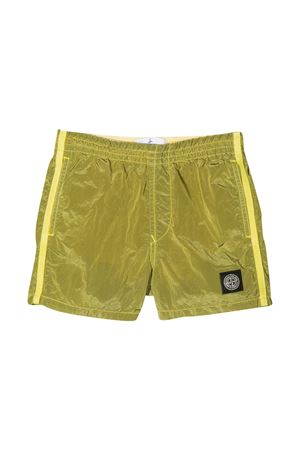 Stone Island Junior yellow swimsuit  STONE ISLAND JUNIOR | 30 | 7416B0213V0031