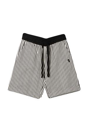 Trussardi kids striped teen shorts TRUSSARDI KIDS | 5 | TBP21029BEHBBLACK/WHTT
