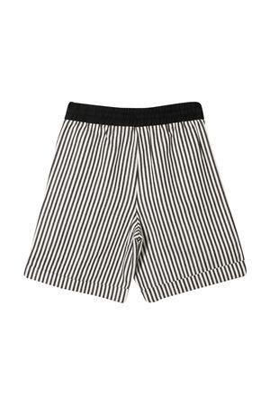 Trussardi kids striped shorts TRUSSARDI KIDS | 5 | TBP21029BEHBBLACK/WHT