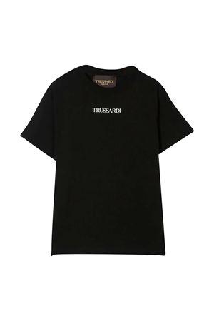 T-shirt con stampa TRUSSARDI JUNIOR TRUSSARDI KIDS | 8 | TBP21076TSG9BLACK