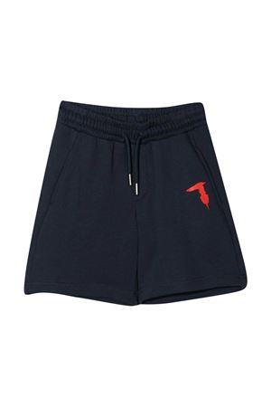 Sports shorts with Trussardi kids print TRUSSARDI KIDS | 5 | TBP21090BEGBLUEOXFORD