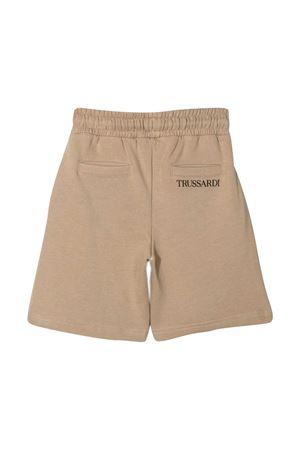 Trussardi kids sports shorts with drawstring TRUSSARDI KIDS | 5 | TBP21090BEGKAKI