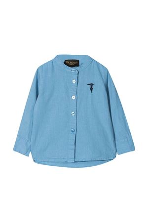 Camicia con ricamo Trussardi kids TRUSSARDI KIDS | 5032334 | TIP21045CATVSKY