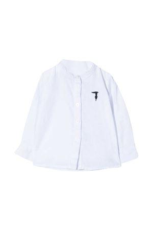 Camicia con ricamo TRUSSARDI JUNIOR TRUSSARDI KIDS | 5032334 | TIP21045CATVWHITE