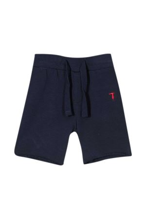 Shorts with Trussardi kids embroidery TRUSSARDI KIDS | 5 | TIP21048PALSBLUEOXFORD