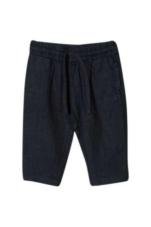 Trussardi kids straight trousers TRUSSARDI KIDS | 9 | TIP21127PAHSBLUEOXFORD