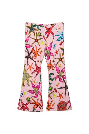 Pantaloni con stampa multicolor Young Versace YOUNG VERSACE | 9 | 10000381A004095P020
