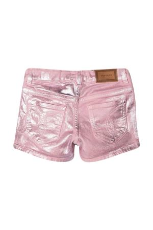 Pink denim shorts Young Versace YOUNG VERSACE | 30 | 10000391A000501D000