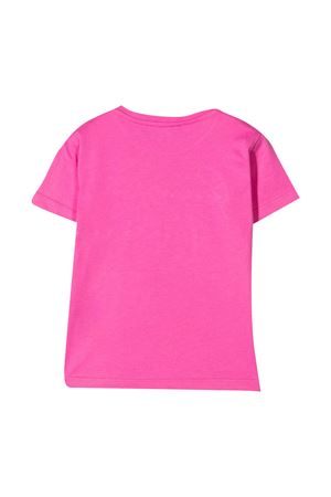 T-shirt rosa con stampa Young Versace YOUNG VERSACE | 8 | 10000521A000832P000