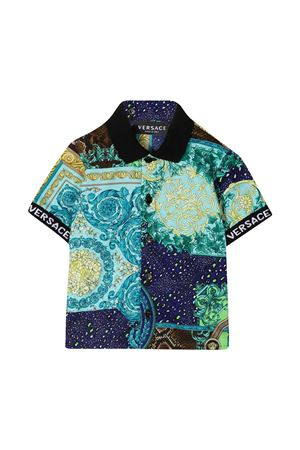 Polo blu Young Versace YOUNG VERSACE | 5032334 | 10000851A002975V010