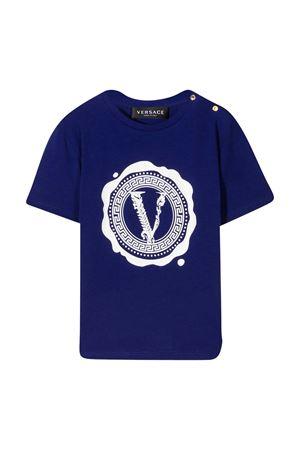 Young Versace blue t-shirt  YOUNG VERSACE | 8 | 10001021A000372U090