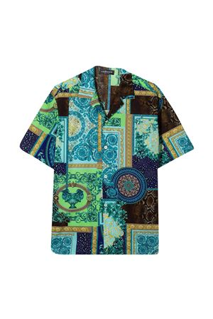 Camicia patchwork Young Versace YOUNG VERSACE | 5032334 | 10001071A002975V010
