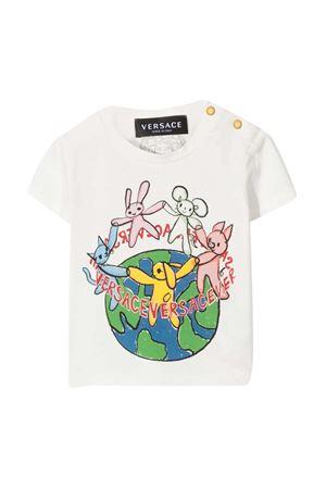 T-shirt bianca Young Versace YOUNG VERSACE | 8 | 10001521A000452W070