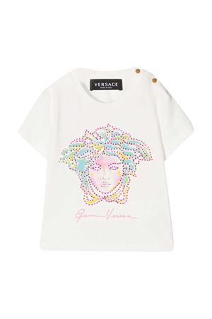 White t-shirt with application Young Versace YOUNG VERSACE | 8 | 10001521A000602W070