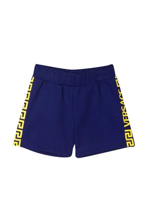 Blue shorts with yellow details Young Versace YOUNG VERSACE | 30 | 10001891A001482U180