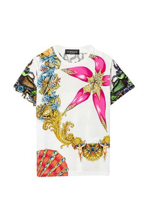 T-shirt con stampa Young Versace YOUNG VERSACE | 8 | 10002391A004196W180