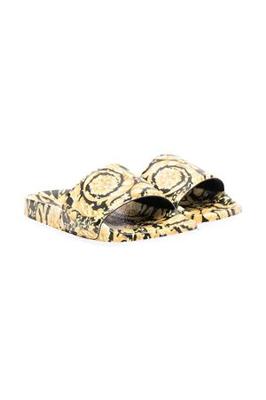 Sandali con stampa Young Versace YOUNG VERSACE | 12 | 10002551A002145B000