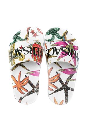 Young Versace patterned slippers  YOUNG VERSACE | 11041766 | 10002551A004055W000