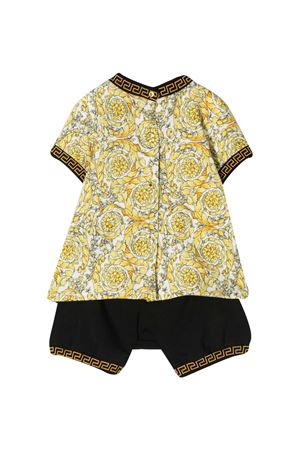 Shorts con t-shirt barocco Young Versace YOUNG VERSACE | 42 | 10003071A002536W090